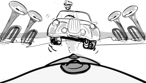 Schets storyboard