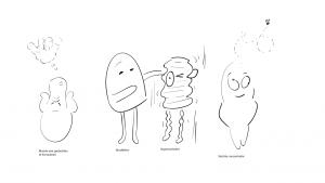 Schets-storyboard-broddelen