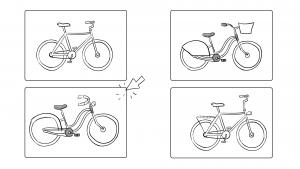 Schets storyboard cheapassbikes