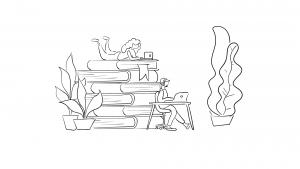 Storyboard-schets