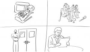 Zorggroep schets